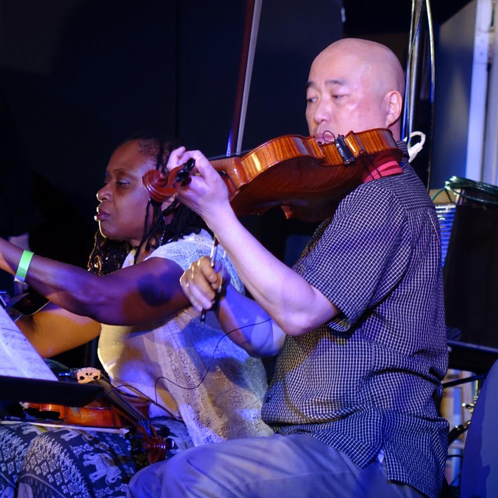 Gwen Lester & Jason Kao Hwang at Vision Festival 21