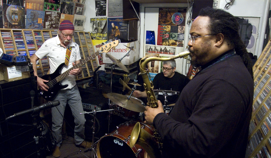 Ras Moshe with Hugh Hopper and John Roulat - DMG 2008