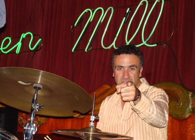 George Fludas at the Green Mill 2010