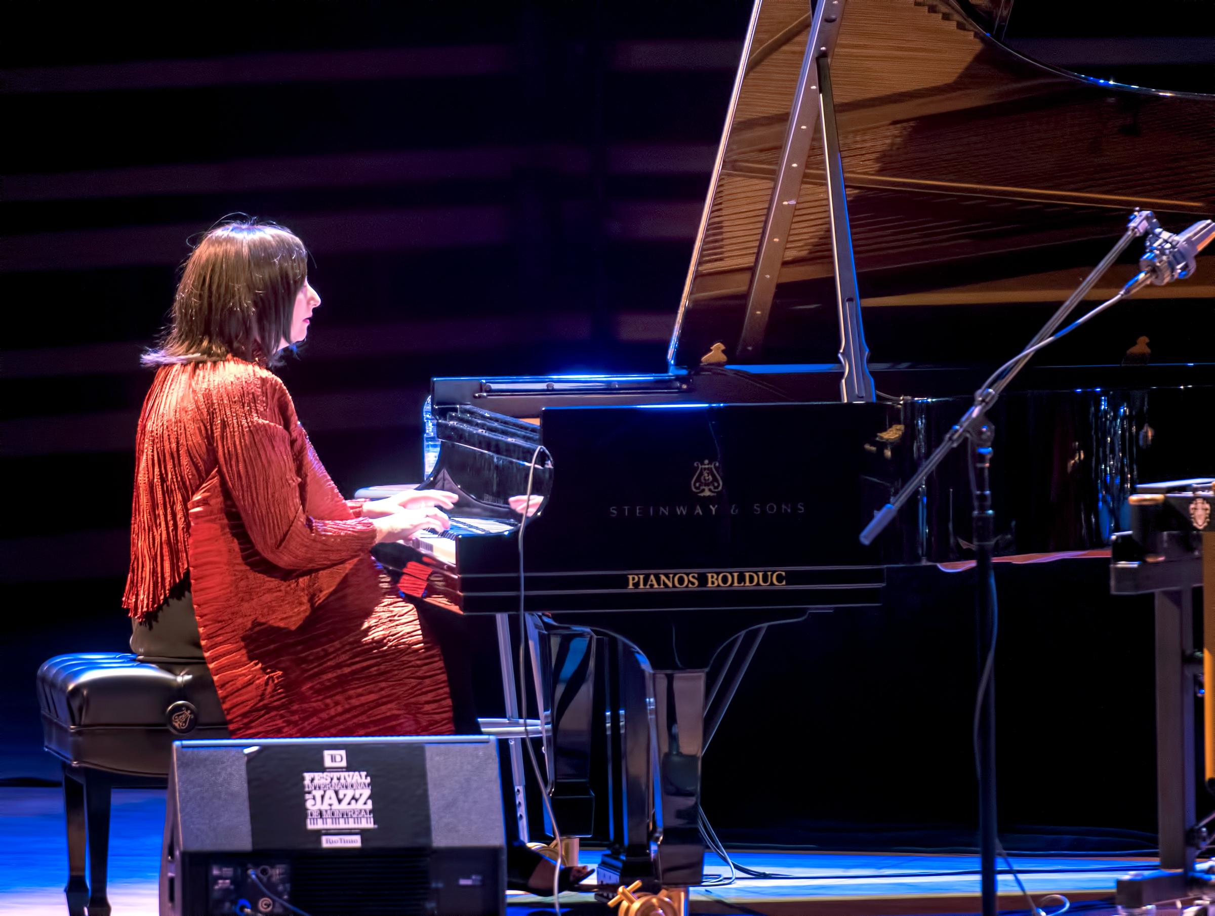 Renee Rosnes at The Montreal International Jazz Festival 2018