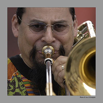 Steve Turre, Jazz a Vienne, France, July 2003