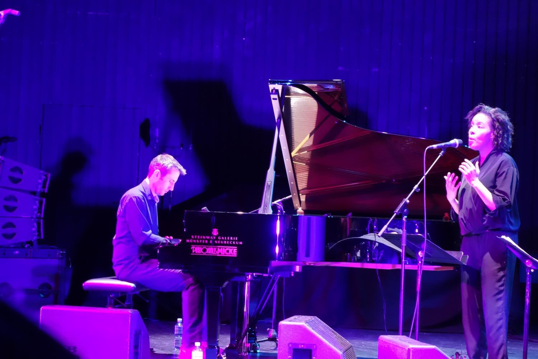 Alexander Hawkins, Elaine Mitchener Jazzfestival Münster 2017