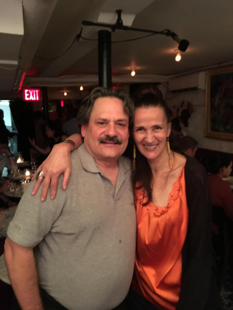Luis Torregrossa and Tessa Souter at Mezzrow Jazz Club