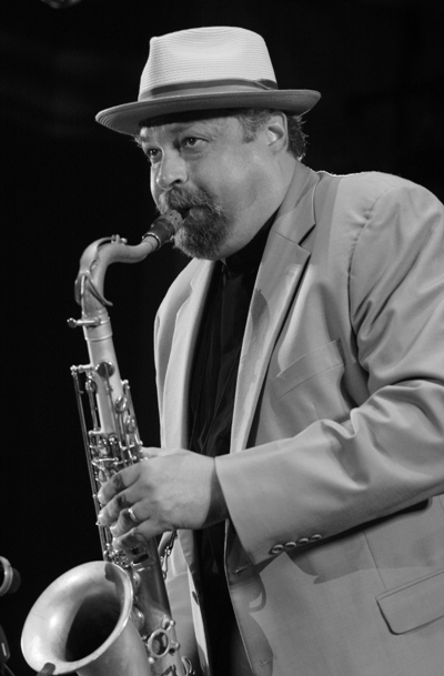 Joe Lovano Performing at This Years Chicago Jazz Festival; Chicago 2006