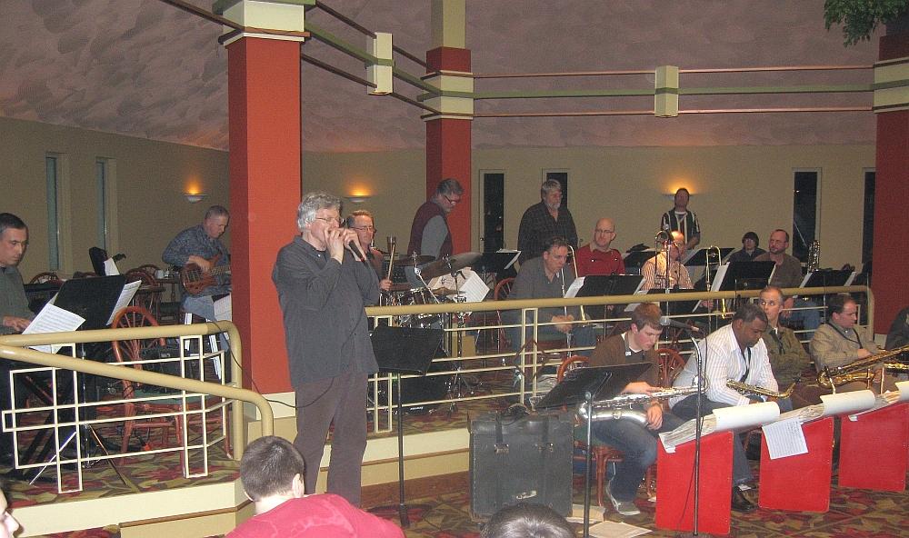 Hendrik Meurkens & Misha Tsiganov w/ Des Moines Big Band, Adventureland, 2/7/11