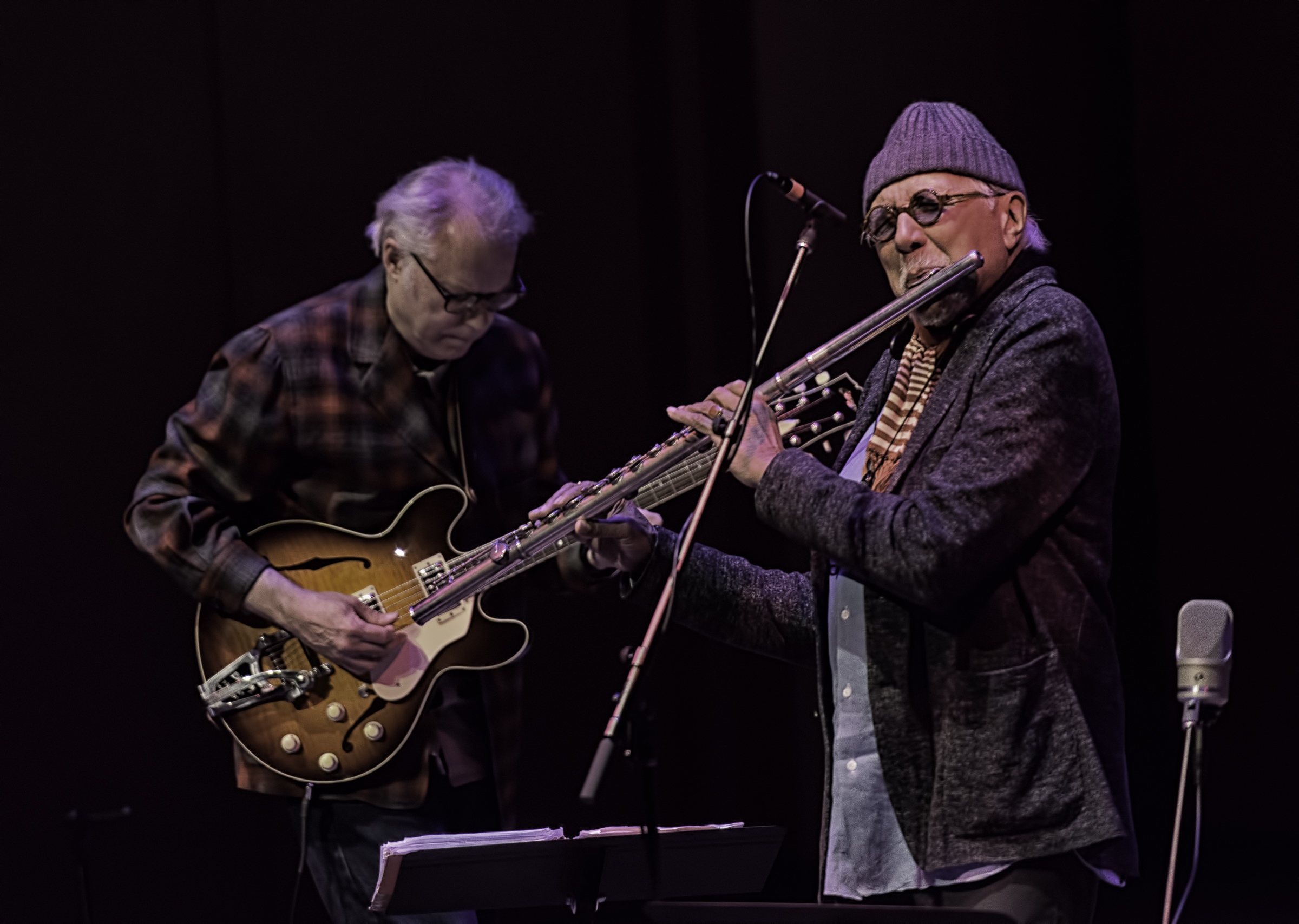 Bill Frisell and Charles Lloyd with Quartet at the Musical Instrument Museum (MIM) Phoenix