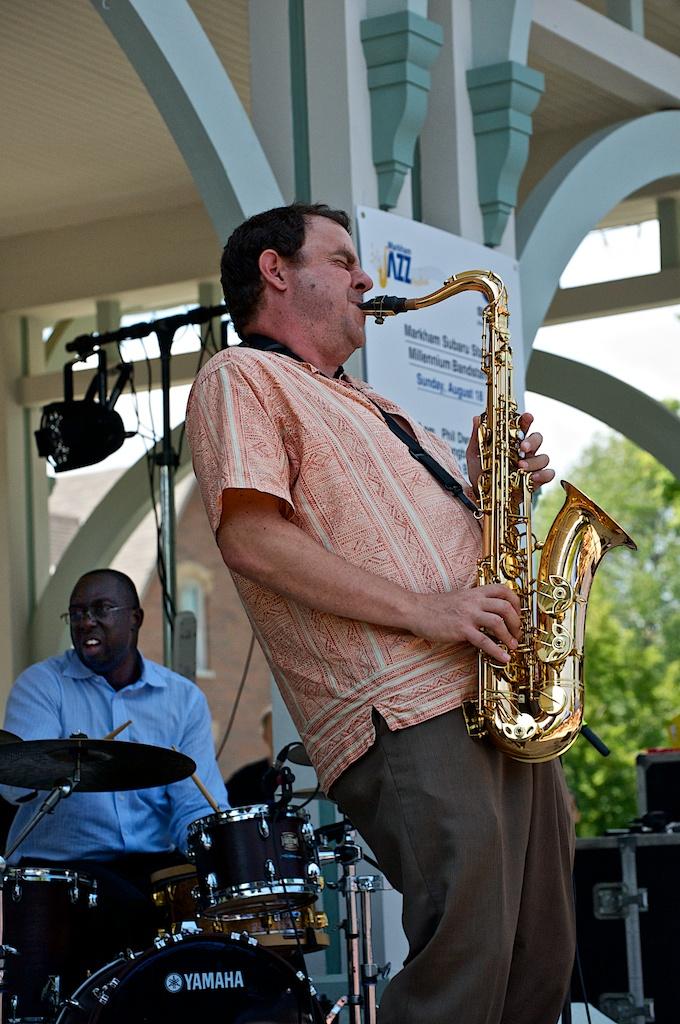 Phil dwyer - markham jazz festival
