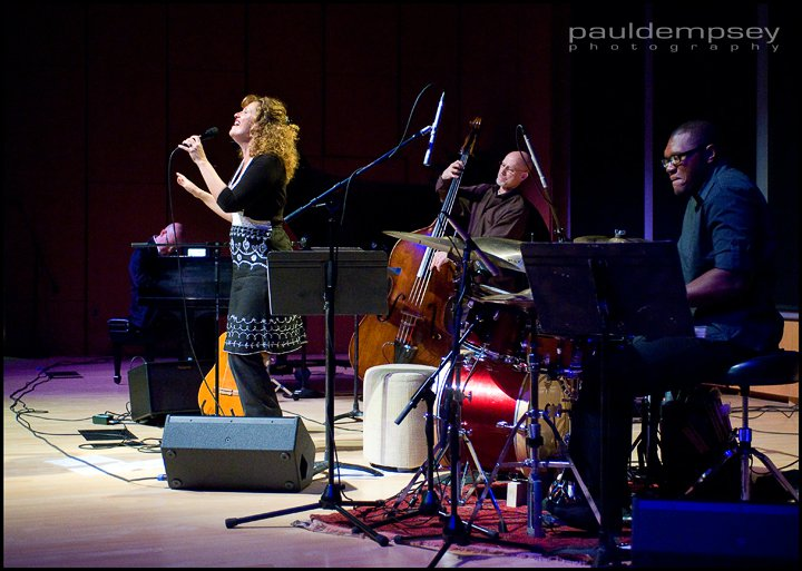 Jazz Bridge presents Gina Roche at the Collingswood Community Center on December 1st