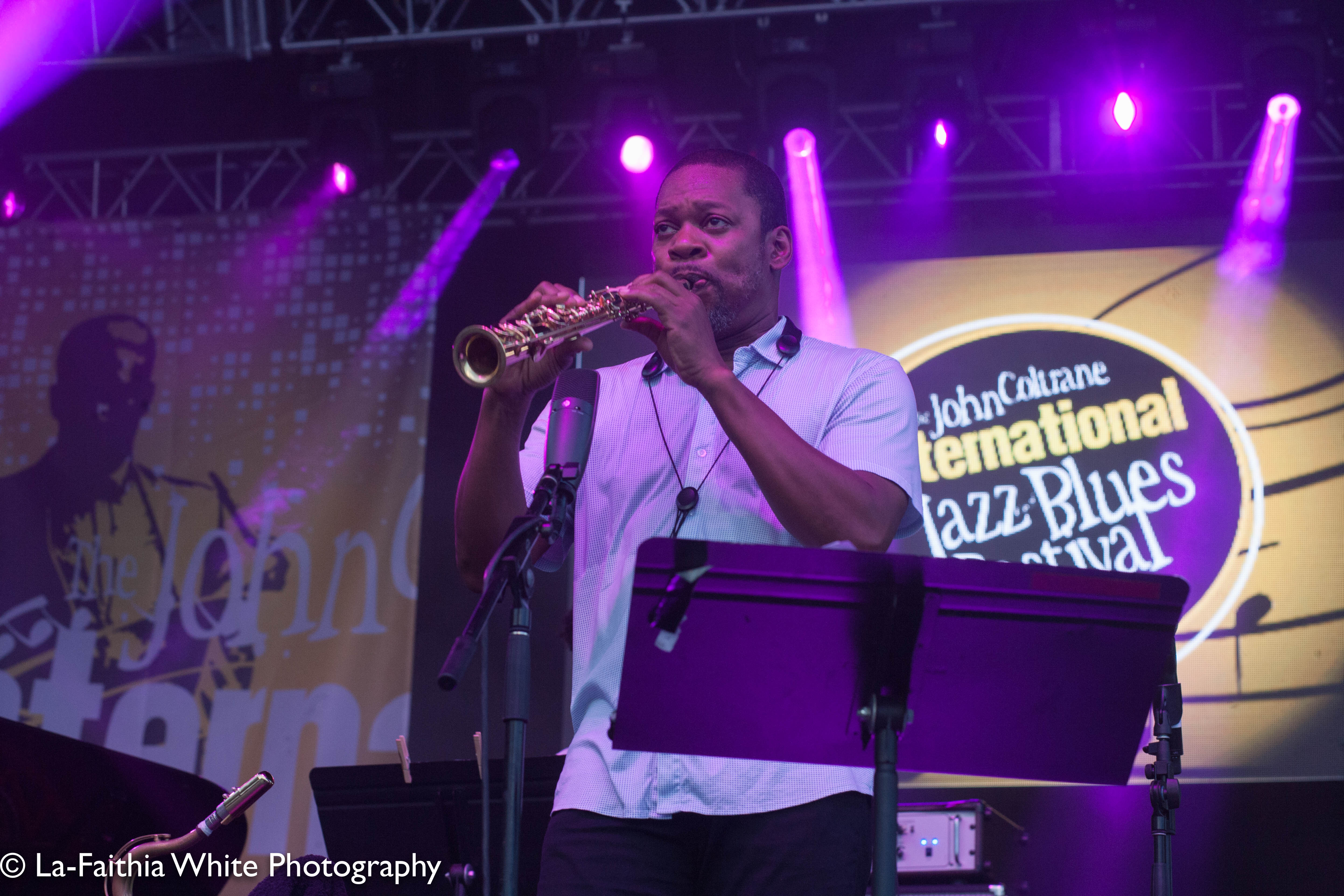 Ravi Coltrane At The 8th Annual John Coltrane International Jazz And Blues Festival