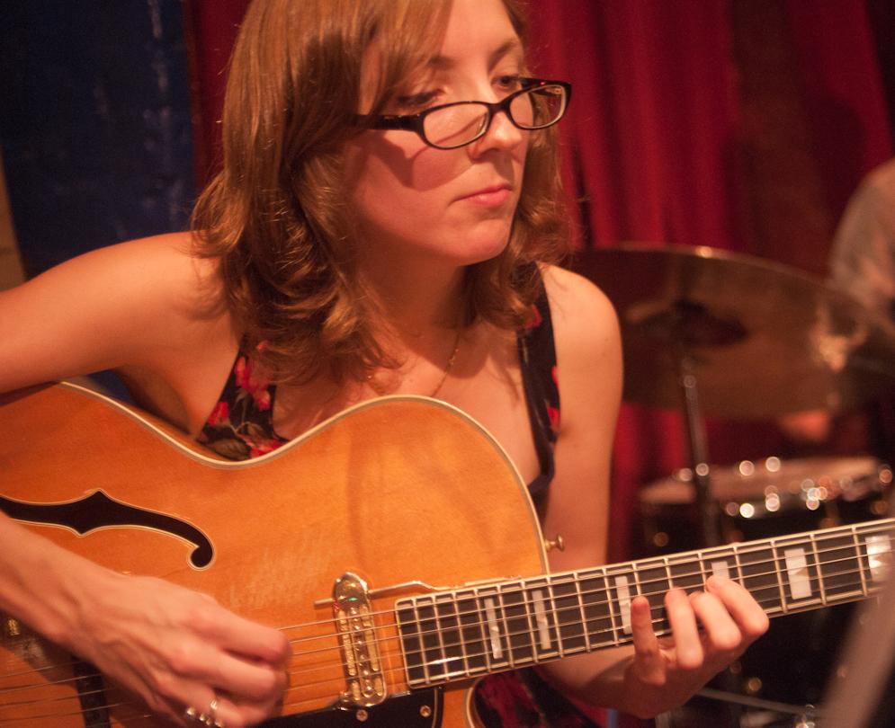 Mary Halvorson with Quintet at Cornelia Street Cafe