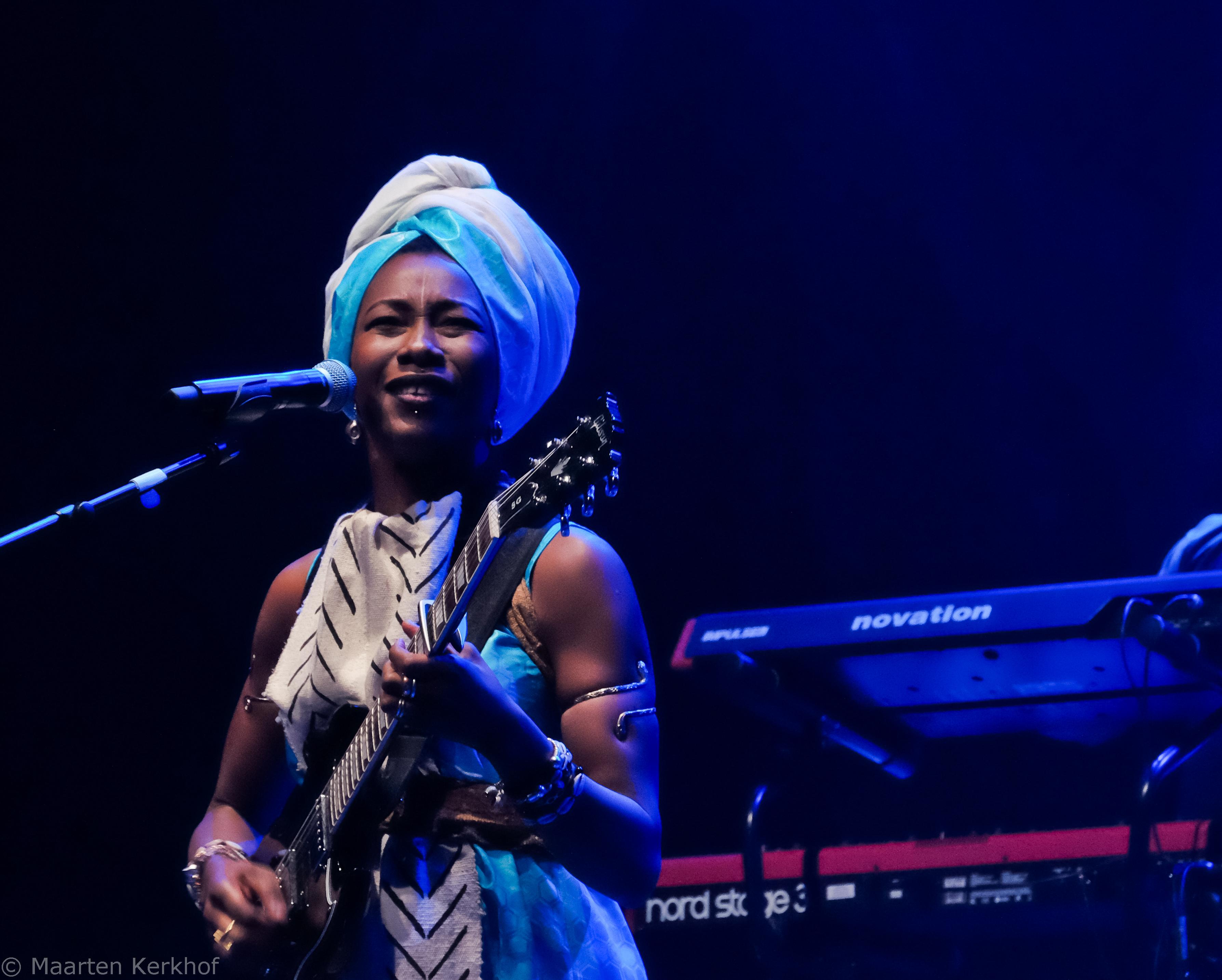 Fatoumata Diawara @ Paard