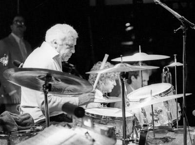 Buddy Rich 0428803 Lewisham Jazz Festival, Lewisham, London. Oct. 1986 Images of Jazz