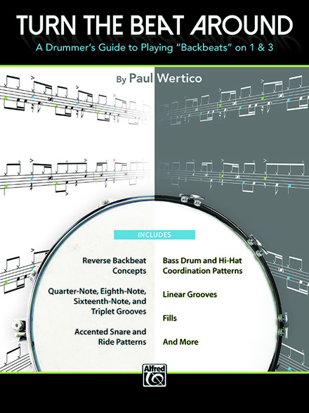 Paul Wertico - TURN THE BEAT AROUND book