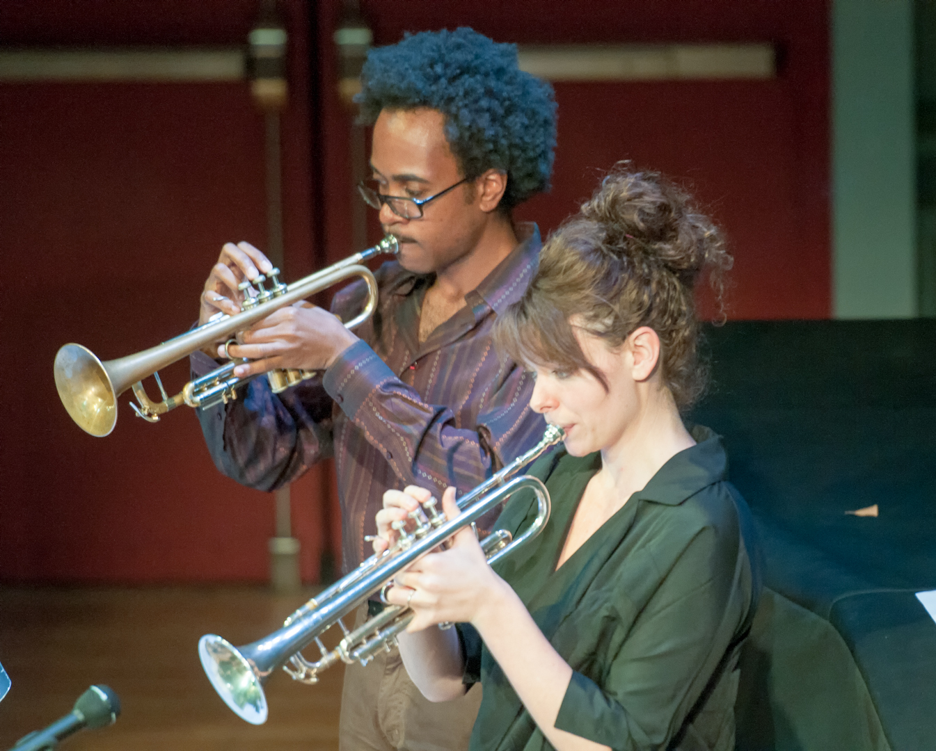 Jonathan Finlayson And Stephanie Richards With Henry Threadgill And Zooid At Roulette