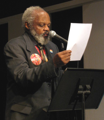 Henry Grimes Reading His Poetry