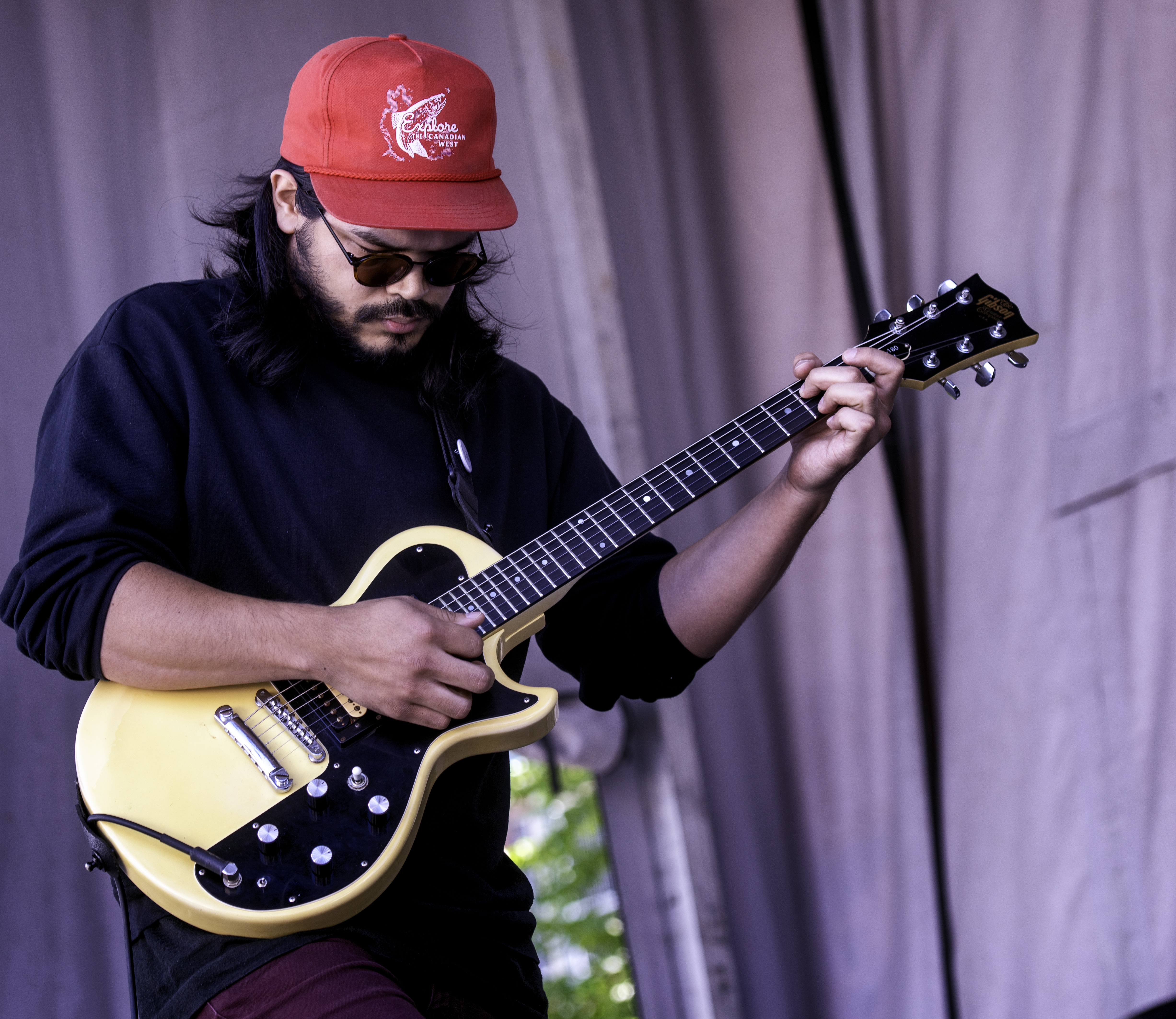 Matthew Fong with Future Machines at the Guelph Jazz Festival (2019)