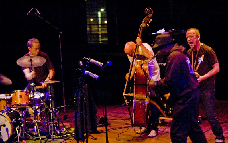 The Thing, with Special Guest Joe McPhee, at Doek Festival, Amsterdam December 4, 2010