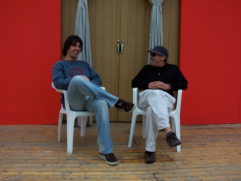 Daniele Cavalca and Claudio Scolari
