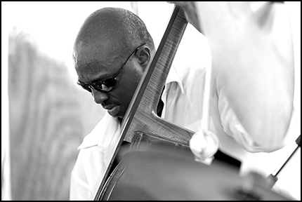 Charnett Moffett<br>w/McCoy Tyner<br>2005 JVC Jazz Festival<br>in Newport R.I.