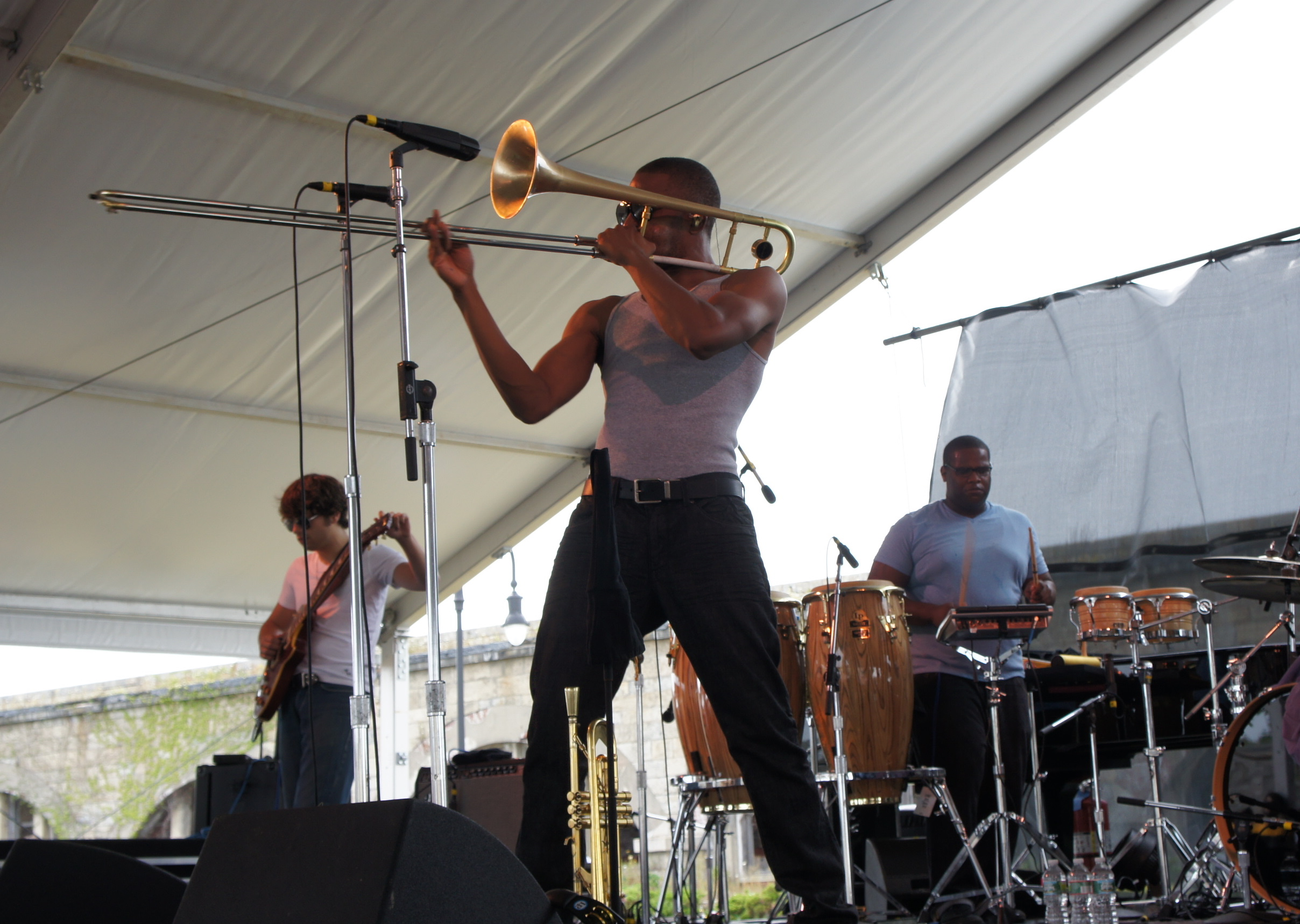 Newport 2011: Trombone Shorty & Orleans Avenue