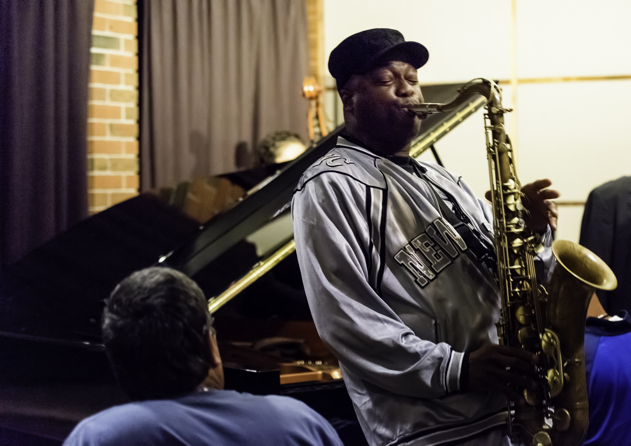 James Carter at the Hotel Jam Sessions at the Monterey Jazz Festival
