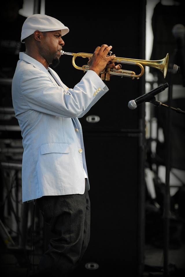 Russell Gunn at the Atlanta Jazz Festival