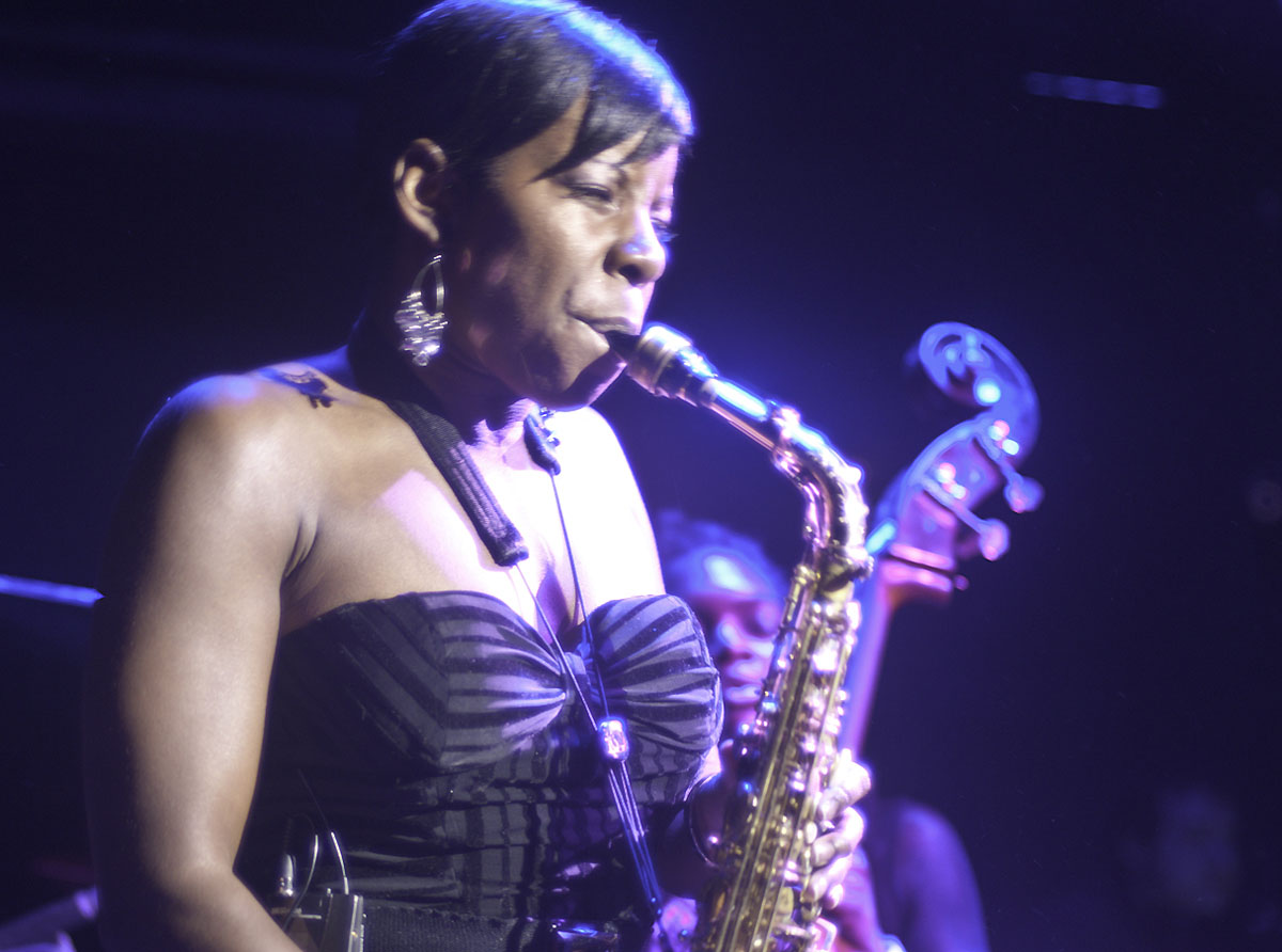 Tia Fuller at Jazz Winterfest 2011