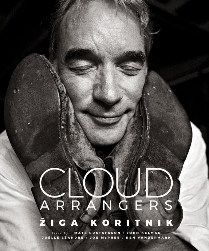 Cover to Žiga Koritnik's Upcoming Music Photography Book, Cloud Arrangers