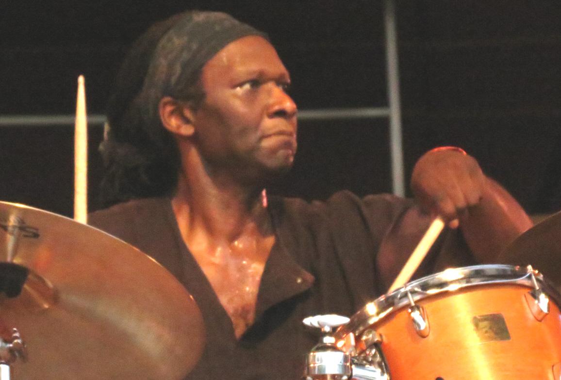 Hamid drake leading bindu at 2013 chicago jazz festival