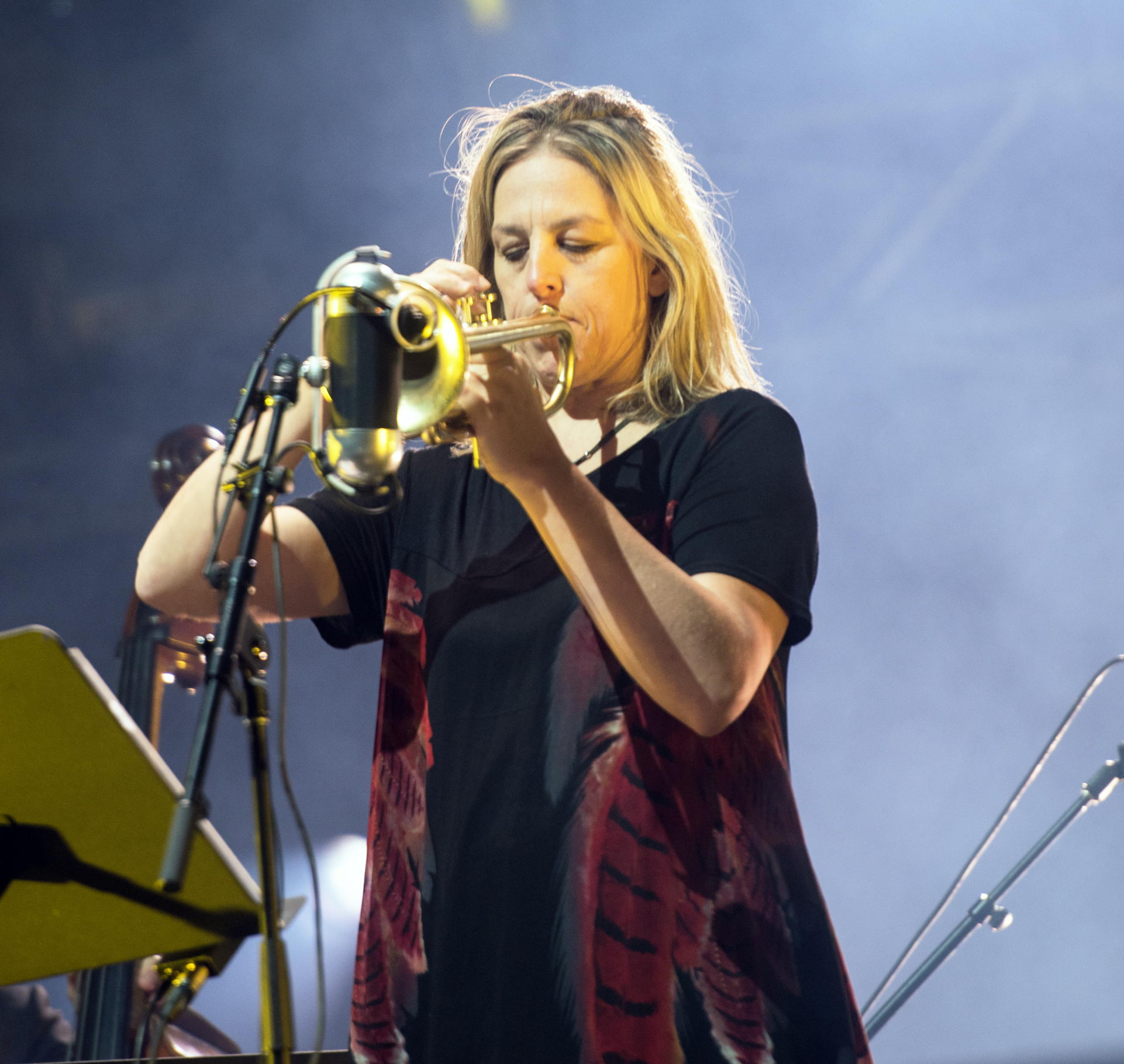 Ingrid Jensen with the Orchestre National de Jazz de Montreal at the Montreal Jazz Festival 2015