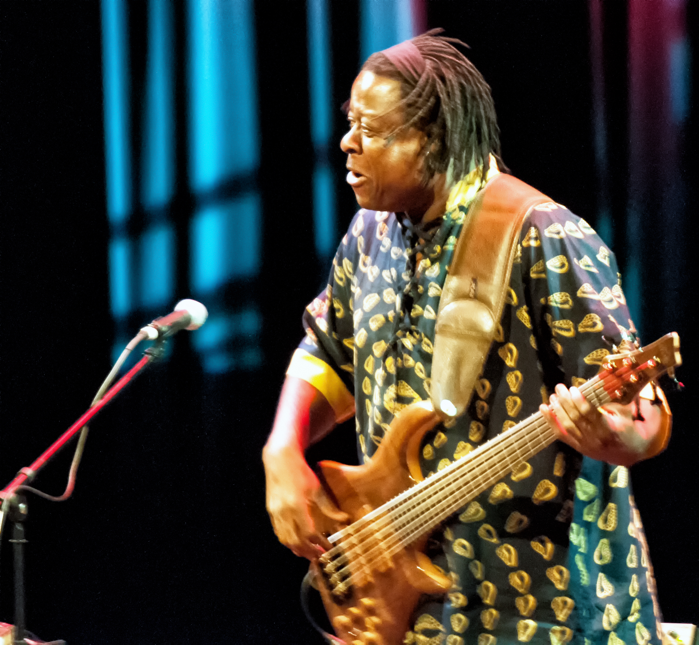 Childo thomas with omar sosa and the afri-lectric experience at the tempe arts center