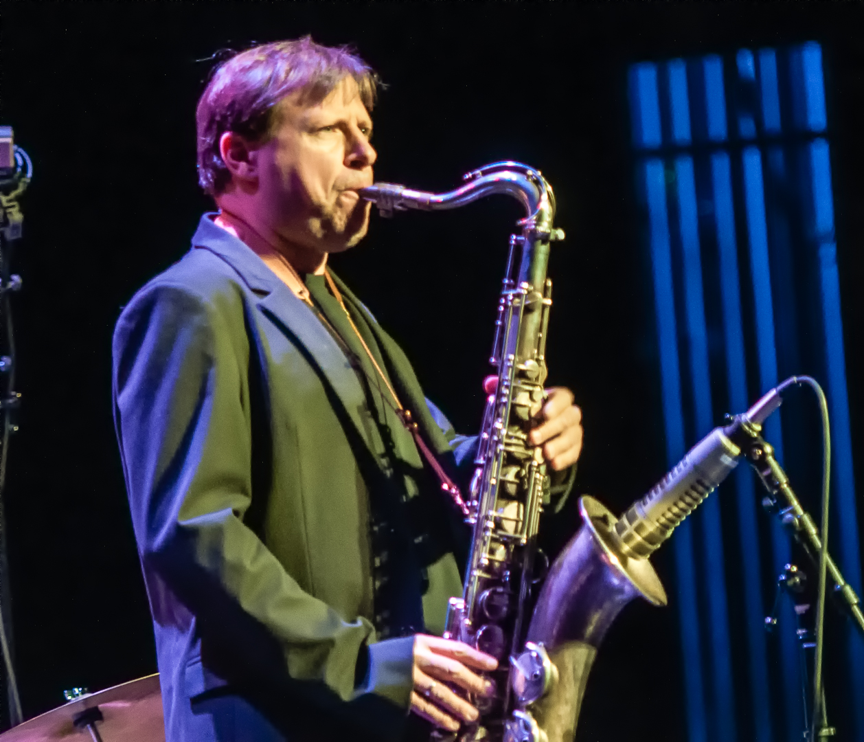 Chris potter with the monterey jazz festival on tour at mesa arts center