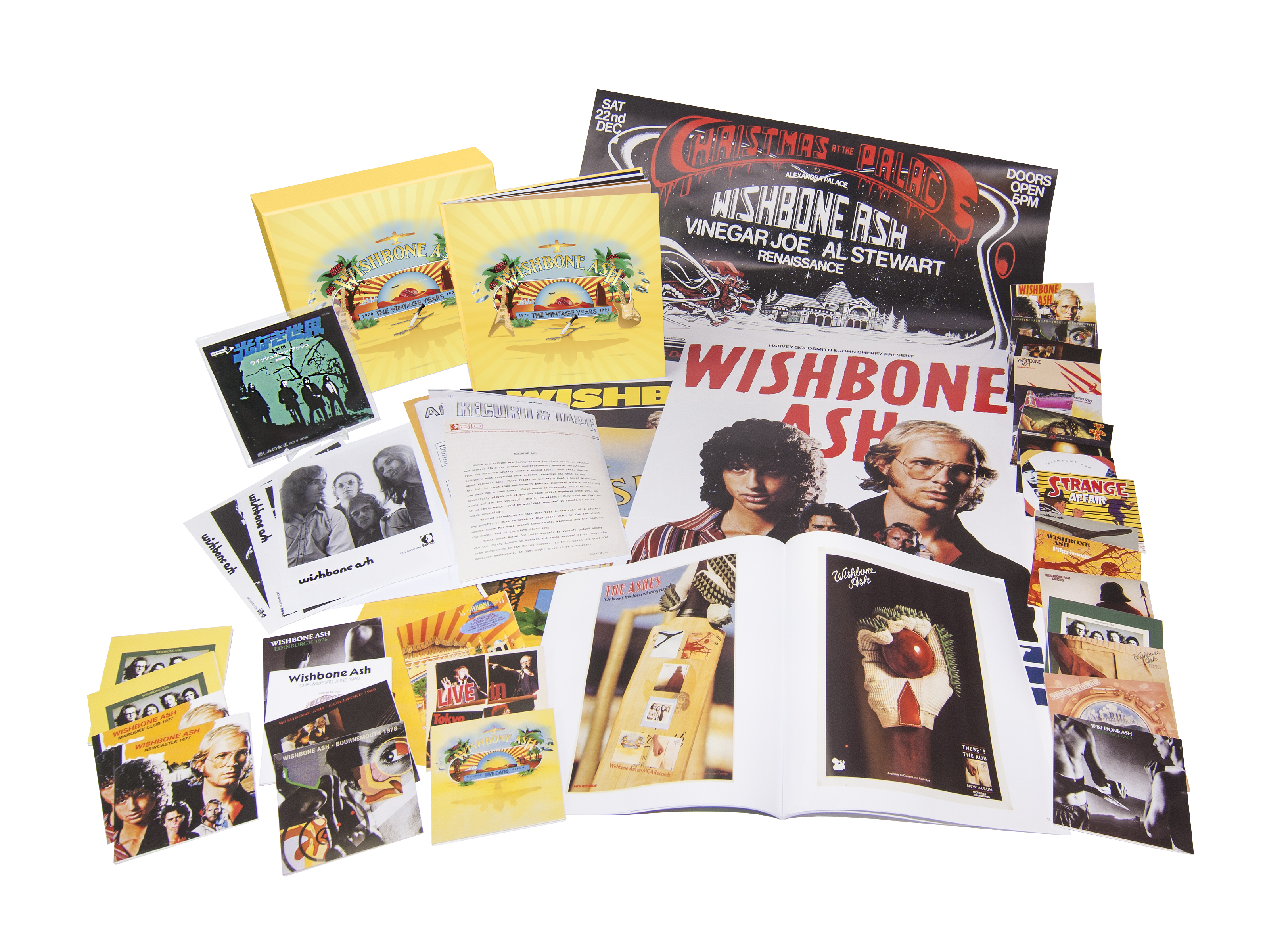 Wishbone Ash: The Vintage Years 1970 - 1991