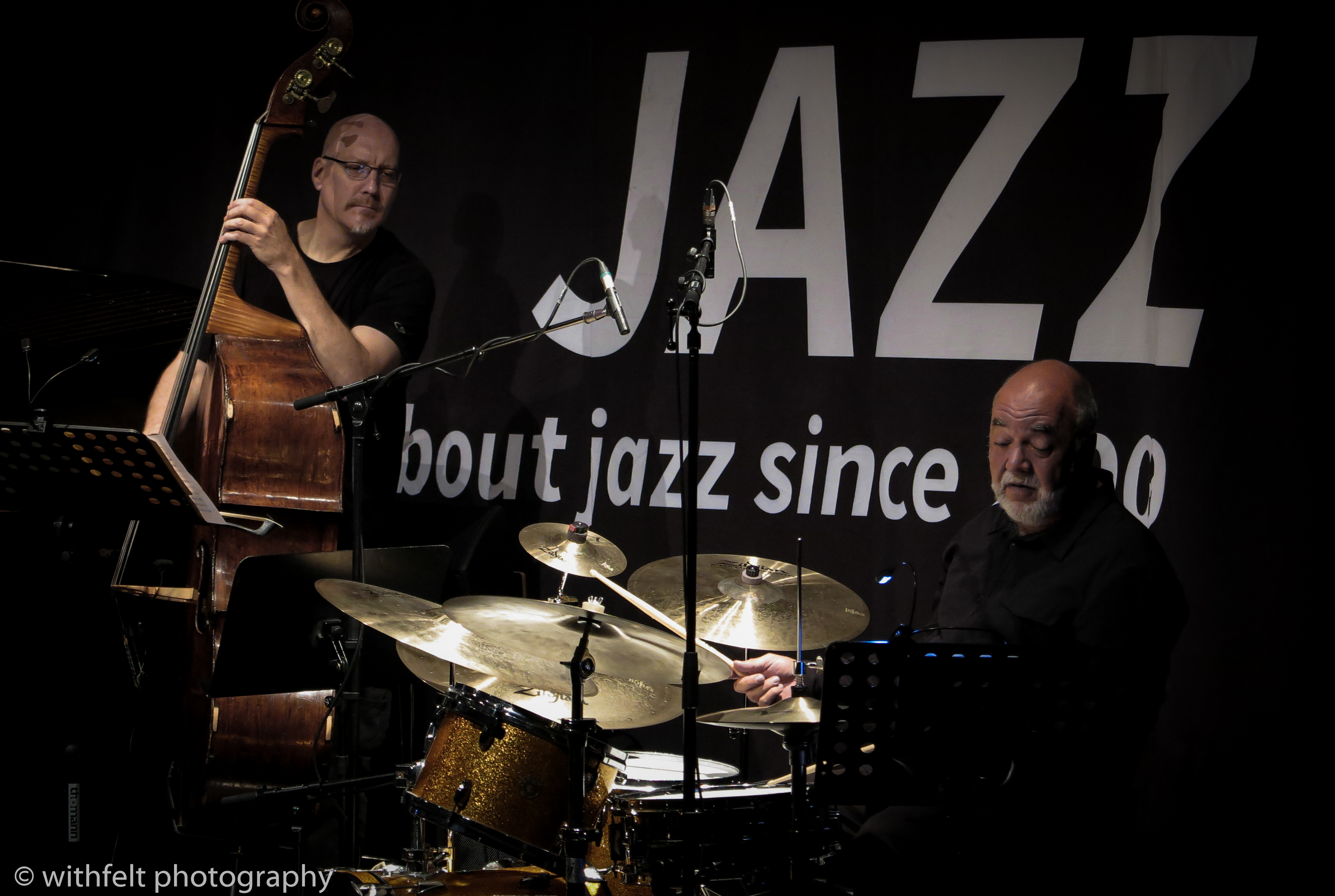 Peter Erskine and Scott Colley at Summer Jazz 2017, Copenhagen Jazz Festival, Denmark
