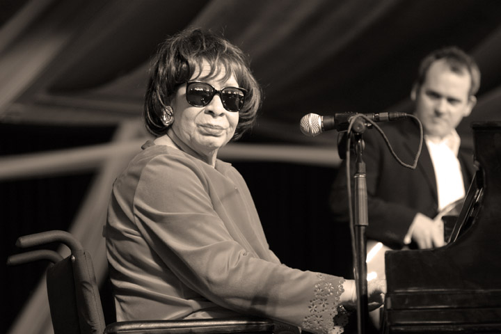 Shirley Horn at the New Orleans Jazz and Heritage Festival 2005