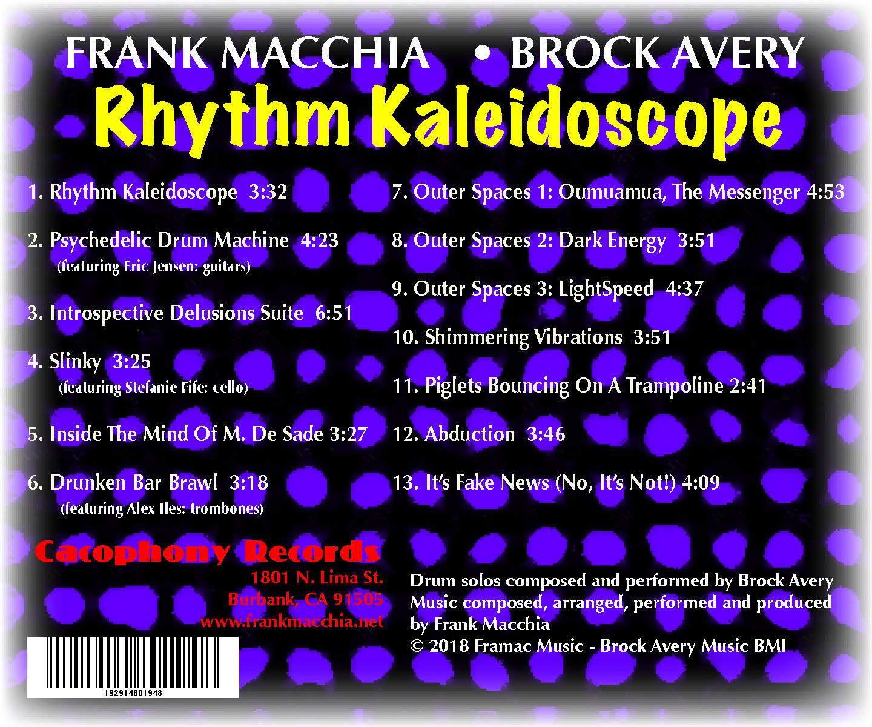 "Frank Macchia - Brock Avery ""Rhythm Kaleidoscope"""