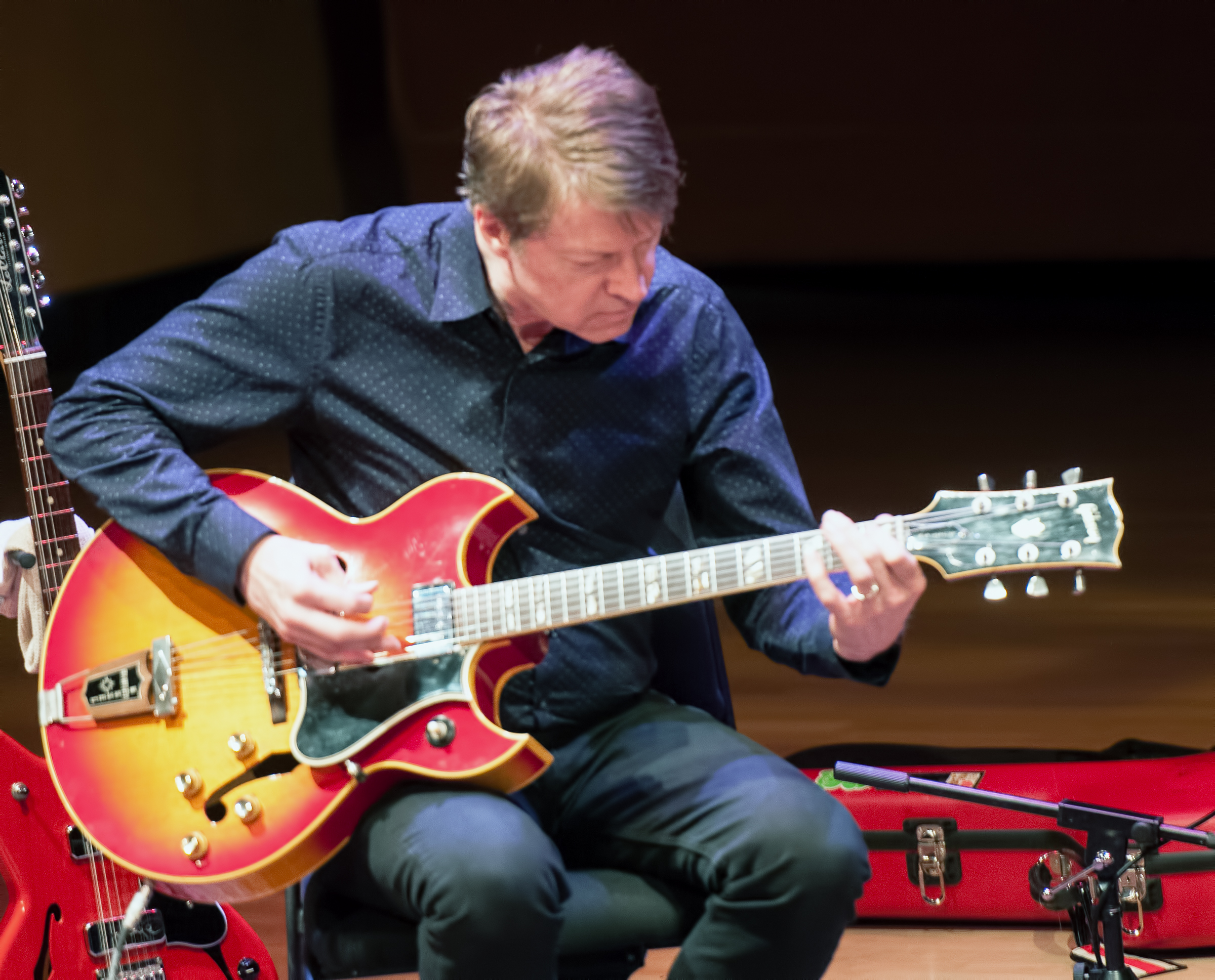 Nels Cline with Julian Lage at the Musical Instruments Museum (Mim) in Phoenix
