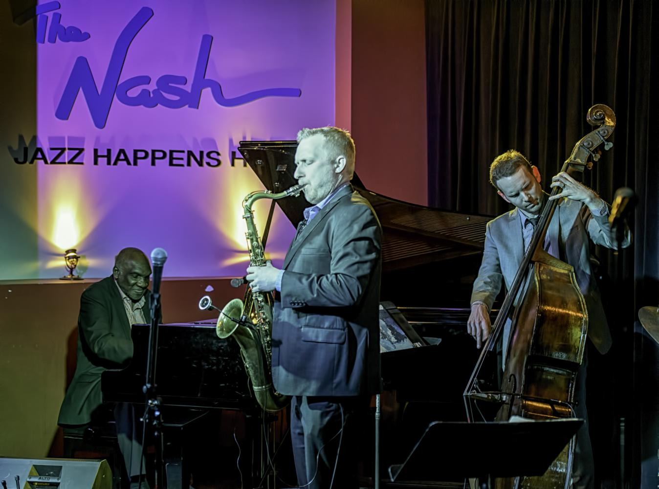 Harold Mabern, Cory Weeds, Michael Glynn With Cory Weeds Quartet At The Nash In Phoenix