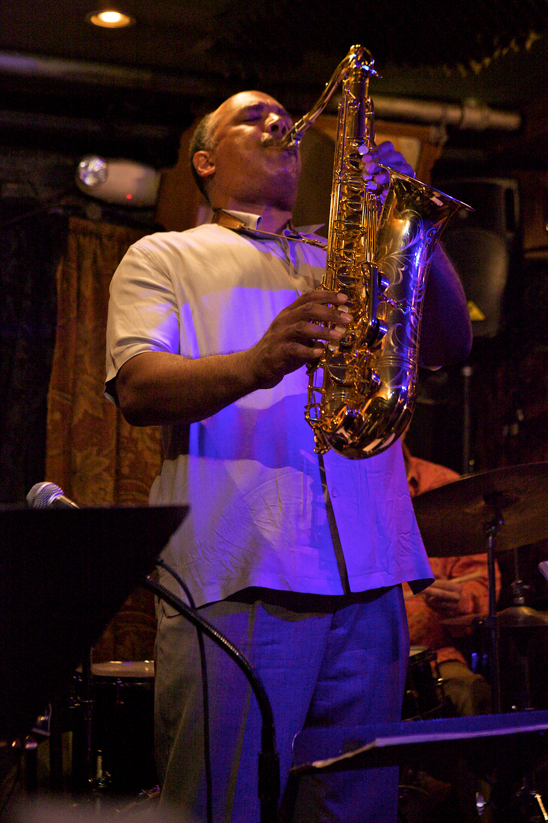 Don Braden at Small's Jazz Club, NYC, 7/19/12