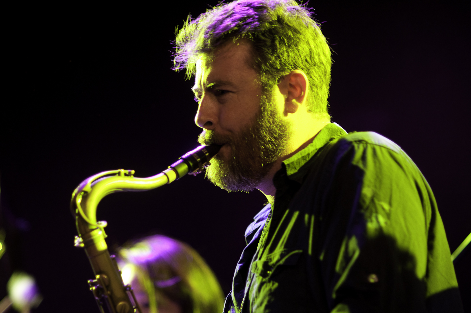 Peter Hess with the Asphalt Orchestra