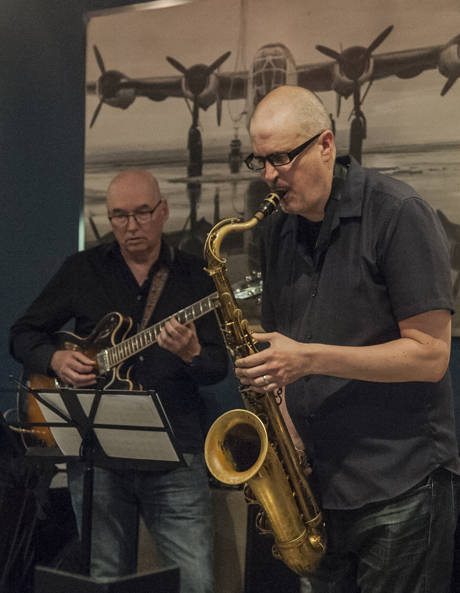 Ted Quinlan & Jeff King - Jeff King Quartet - The Pilot - Toronto