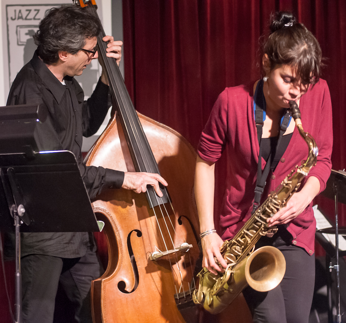 Joseph Lepore and Melissa Aldana with Quartet at the Jazz Gallery
