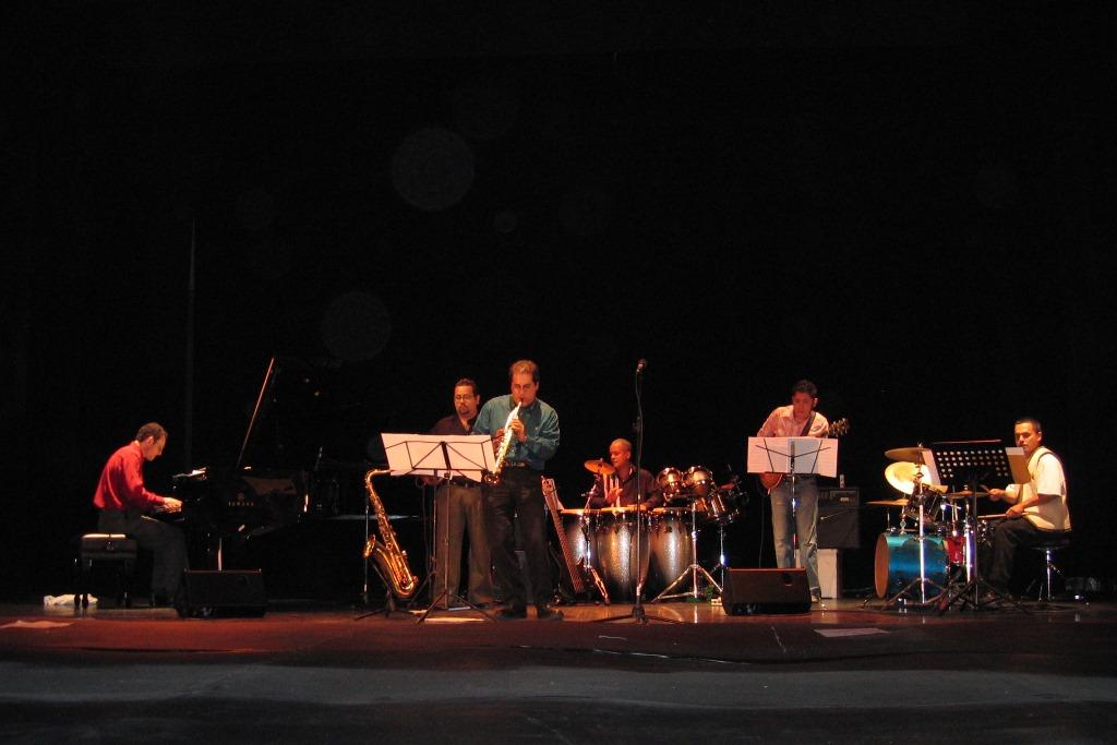 Francesco Crosara with Juan Alzate Quintet in Mexico