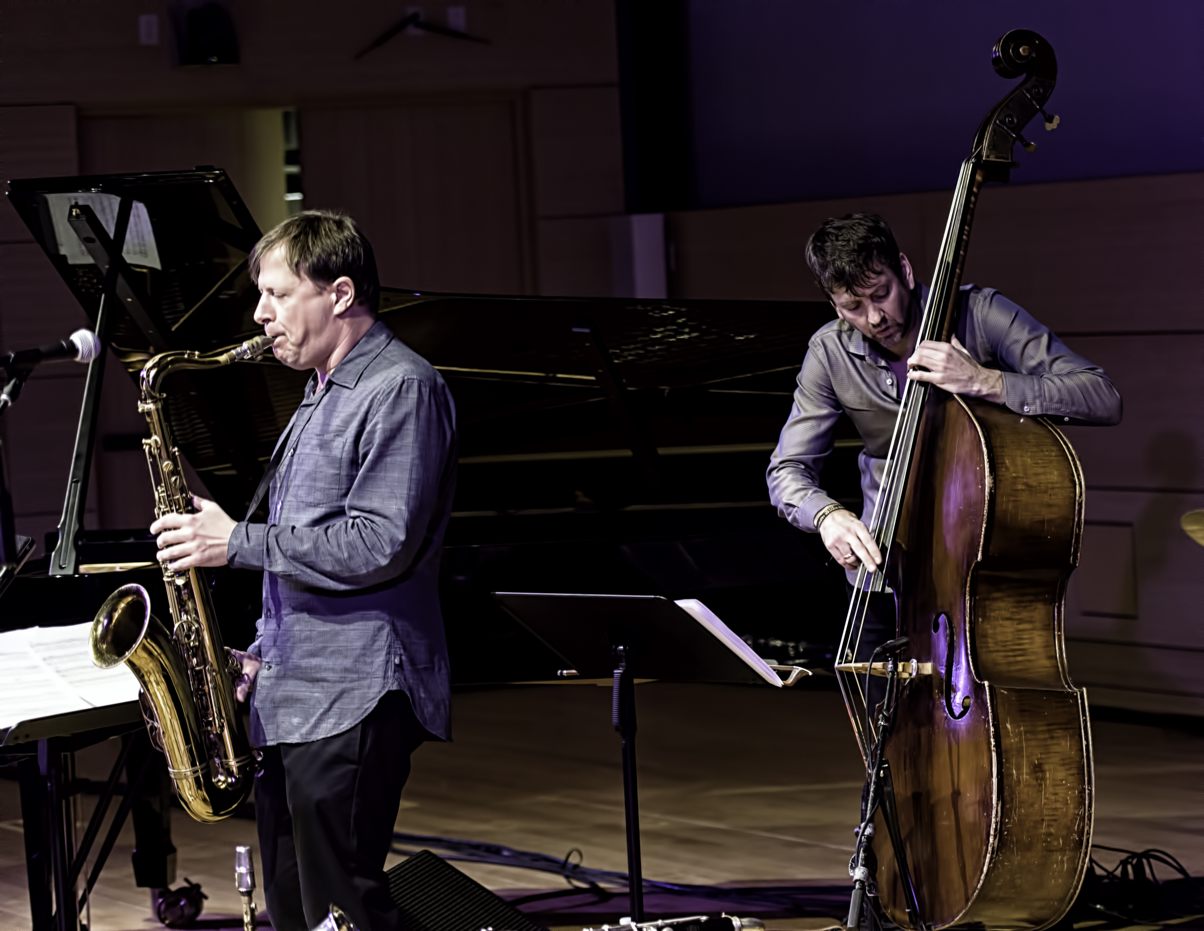 Chris Potter and Joe Martin with Chris Potter Quartet