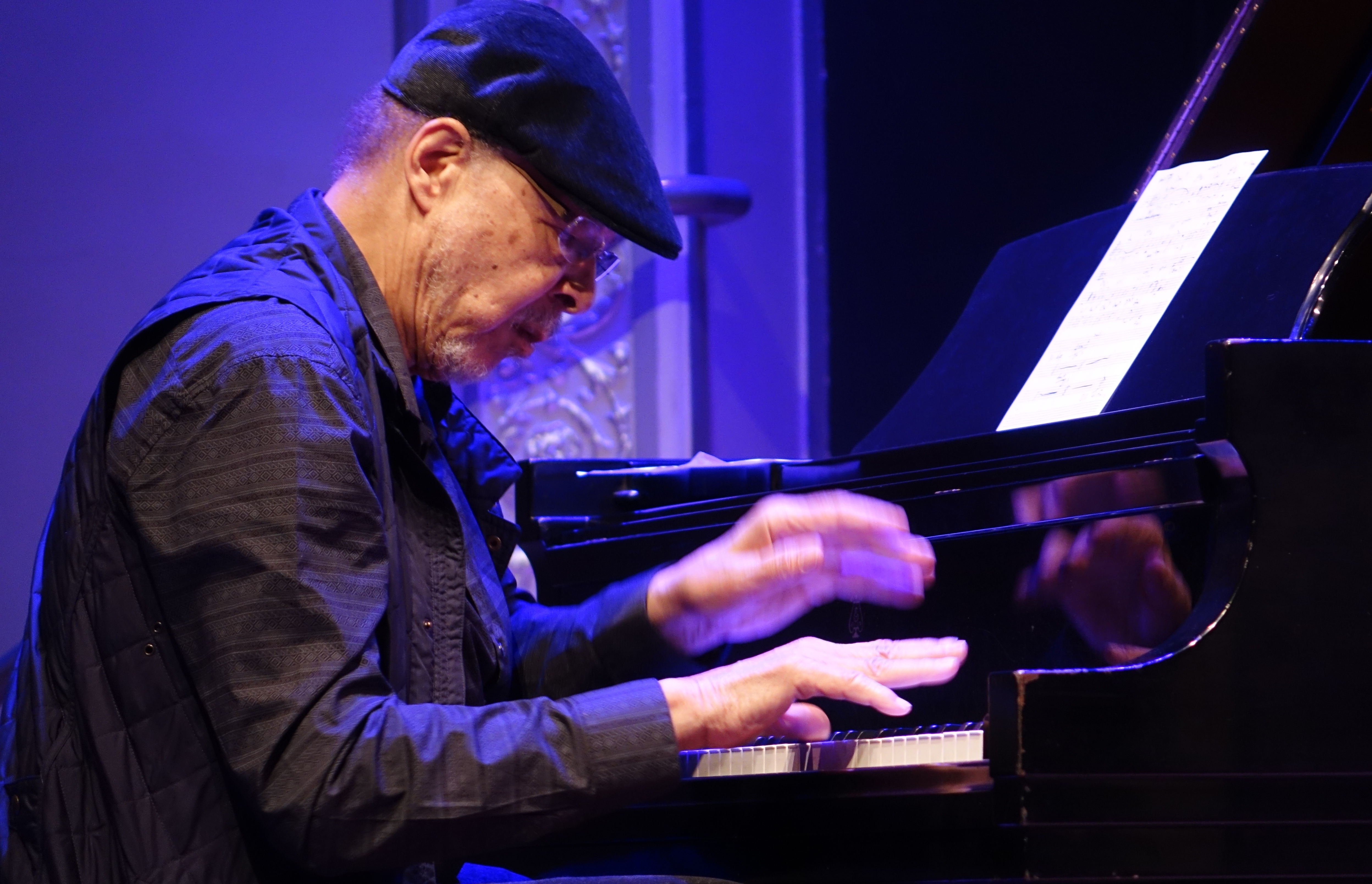Dave Burrell at Roulette, Brooklyn in May 2018