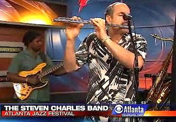 Steven Charles Band on CBS Morning Show