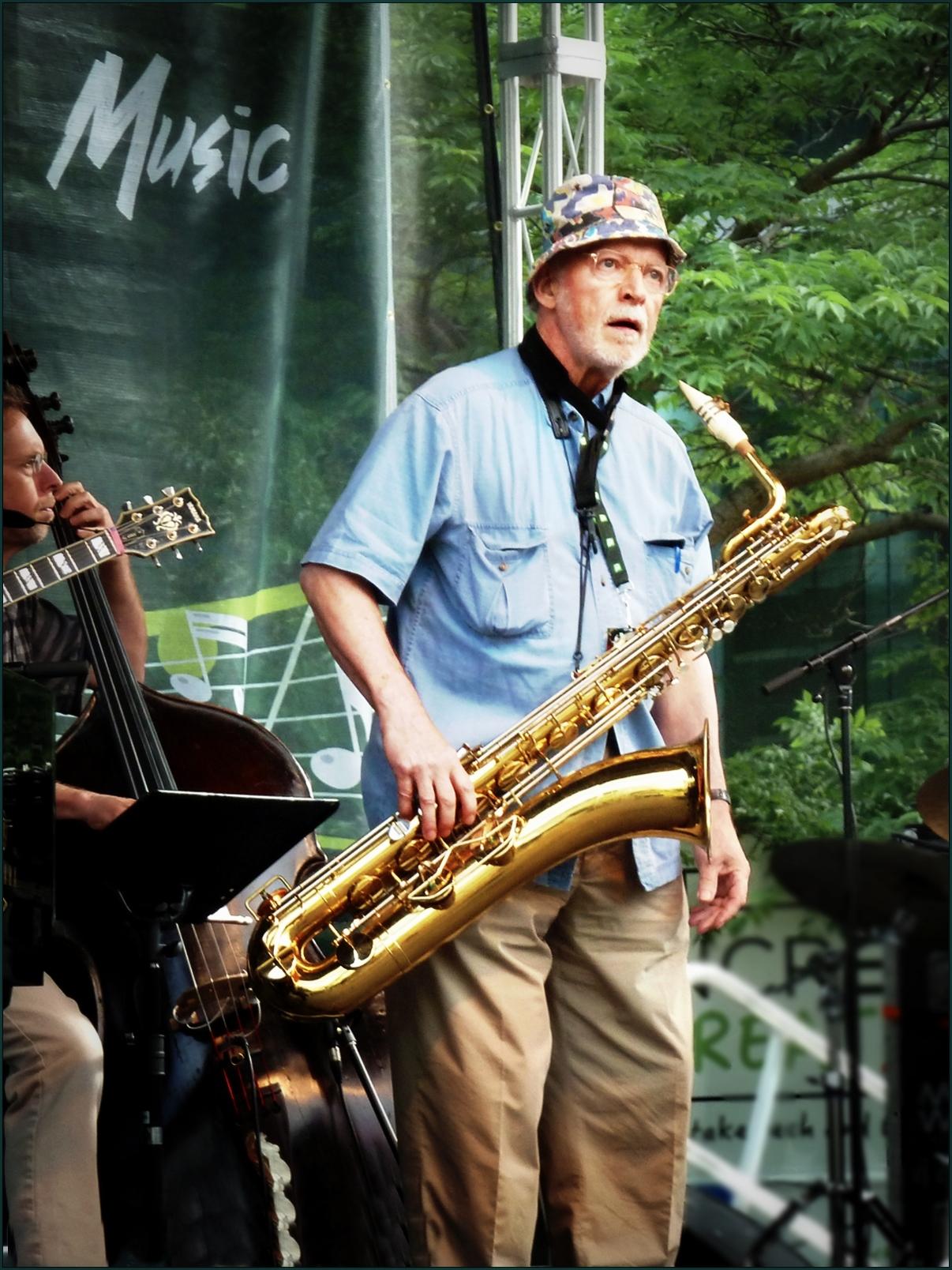 Jim Galloway at Toronto Jazz Festival 2011