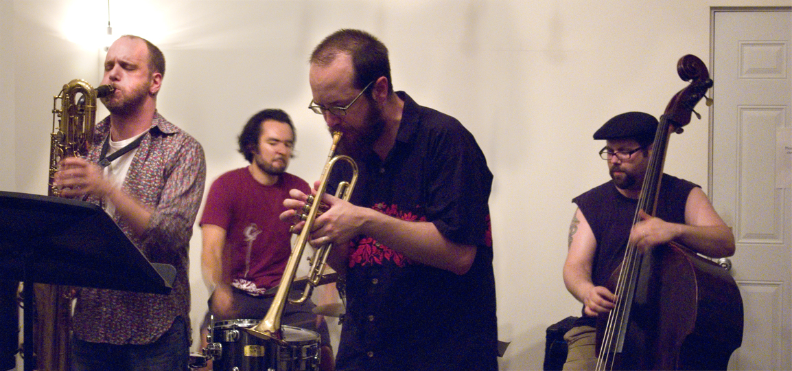 Ideal Bread (Josh Sinton, Kirk Knuffke, Reuben Radding, and Tomas Fujiwara) - KMB Jazz Fest @ DSMC 2008