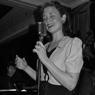 George Gee Swing Orchestra - Singer Hilary Gardner