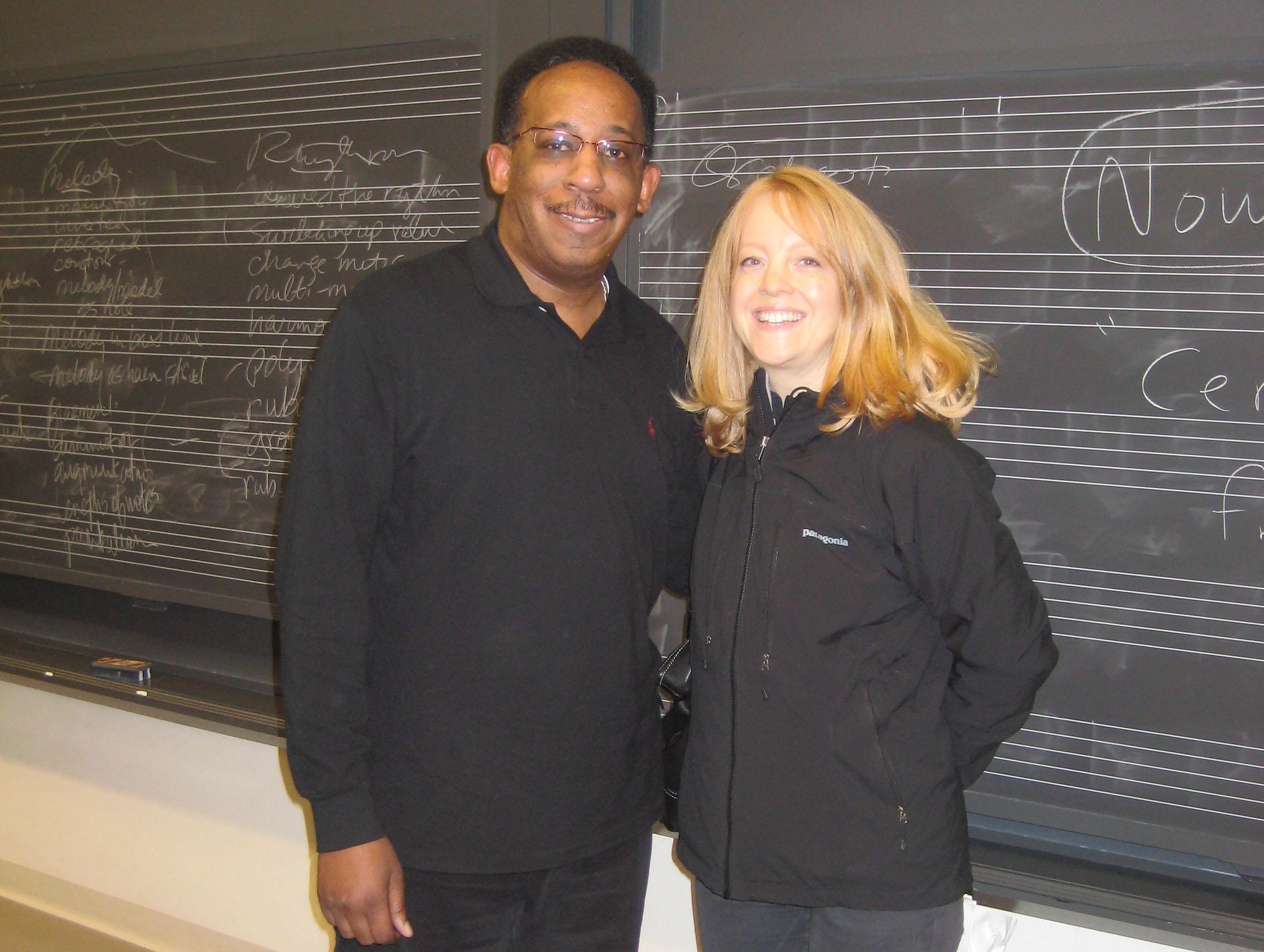 Anthony Branker and Maria Schneider